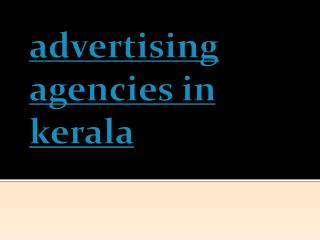 advertising agencies in kerala