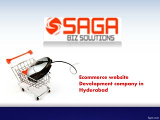 Ecommerce Website Development Hyderabad, Ecommerce Website Design Hyderabad
