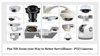 PTZ Camera Suppliers in UAE