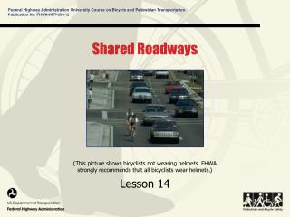 Shared Roadways