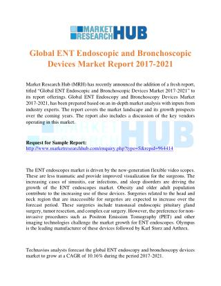 Global ENT Endoscopic and Bronchoscopic Devices Market Report 2017-2021
