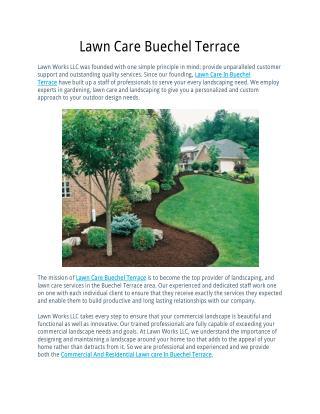 Lawn Care Buechel Terrace