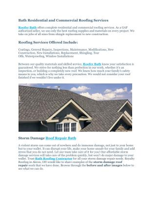 Ppt Complete Guide For Commercial Flat Roofing
