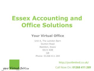 Your Virtual Office in Essex