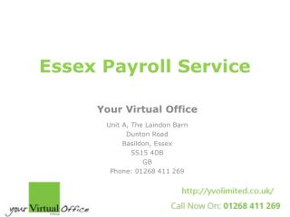 Payroll for Small Business in Essex