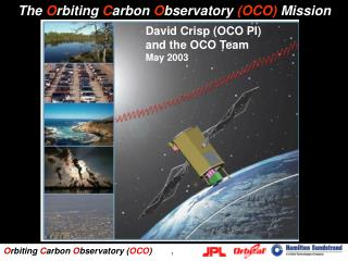 The Orbiting Carbon Observatory OCO