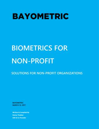 Biometrics for Non-profit