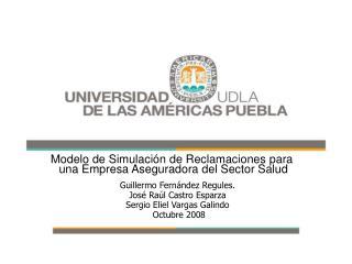 Modelo de Simulaci n de Reclamaciones para  una Empresa Aseguradora del Sector Salud