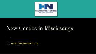 New Condos in Mississauga | sales@newhomescondos.ca