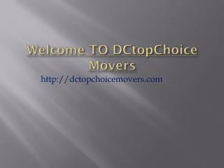 Washington DC Movers Company