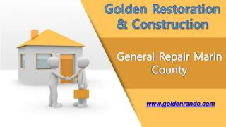 General Repairs Services Marin County