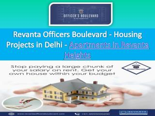 Buy Flats in Revanta Heights