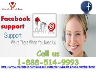What is the use of Facebook Support 1-888-514-9993?