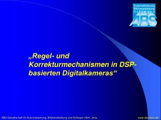 ABS Gesellschaft f r Automatisierung, Bildverarbeitung und Software mbH, Jena              abs-jena.de