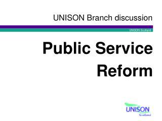 UNISON Branch discussion