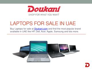 Laptops for sale in UAE - Doukani