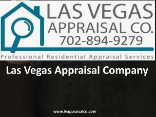 Pre-Listing, Pre-Purchase, FSBO's Services - LV Appraisal Company