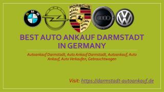 Auto Ankauf Darmstadt
