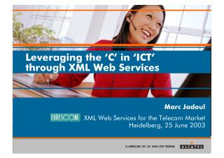 Leveraging the C in ICT (2003)