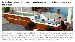 Four Person Hot Tubs
