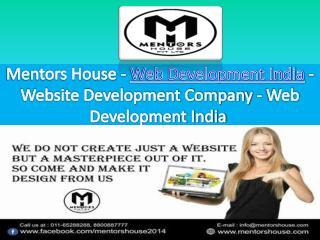 Website Designing Company Delhi - MentorsHouse