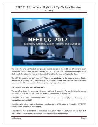 Best coaching classes for NEET UG Exam.