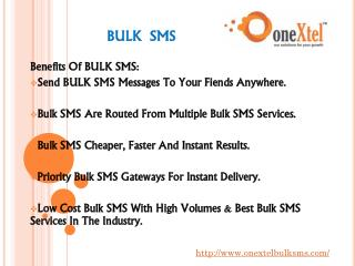 bulk sms - bulk sms in india