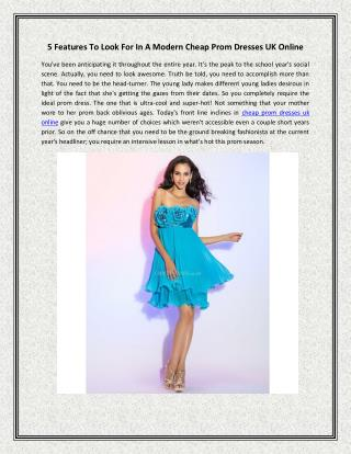 cheap prom dresses uk online