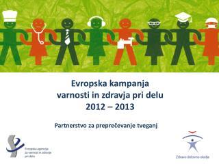 Evropska kampanja  varnosti in zdravja pri delu  2012   2013