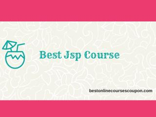Best Jsp Course