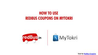 How to Use Redbus Coupons For Bus Discount