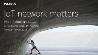 Arrow Global Village IoT Summit (2016)