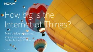 ETSI IoT keynote (2016)