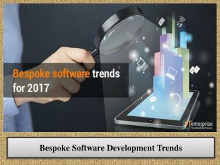 Bespoke Software Development Trends