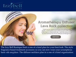 Aromatherapy pendants