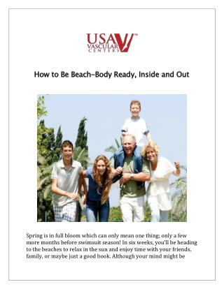 How to Be Beach-Body Ready, Inside and Out