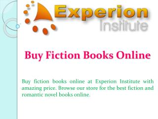 Buy Fiction Books Online