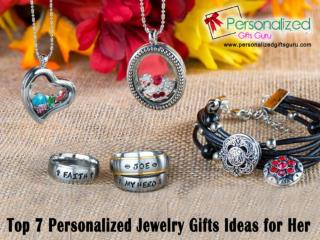 Top 7 personalized jewelry gifts ideas for her