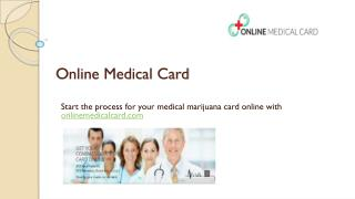 Cannabis Card Online - Online Medical Card
