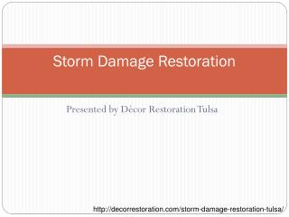 Get Help to Restore Your Storm Damaged Property