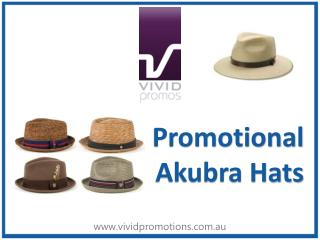 Shop For Akubra Hats at Vivid Promotions Australia