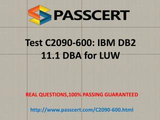 IBM C2090-600 exam questions and answers