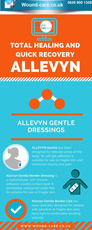 Total Healing and Quick Recovery Allevyn Gentle Dressings