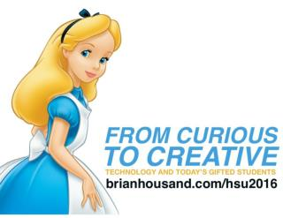 From Curious To Creative