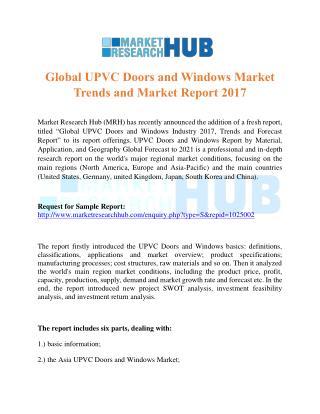 Global UPVC Doors and Windows Market Trends and Market Report 2017