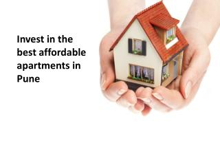 Invest in the best affordable apartments in Pune