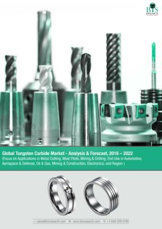 Global Tungsten Carbide Market Analysis 2016