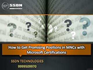 MCSE training in delhi
