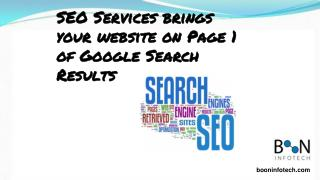 Search Engine Optimization and SEO services that deliver results!