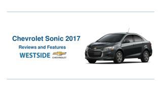 Chevrolet Sonic 2017 Reviews & Features